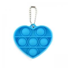 Pop it мини сердце Антистресс-игрушка брелок