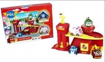 Игровой набор Робокар Поли- Пожарная станция XZ-302