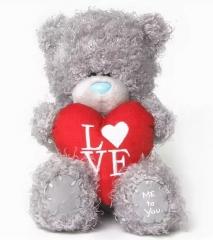 Мишка G01W3811 Тедди Me to You 13см с сердцем