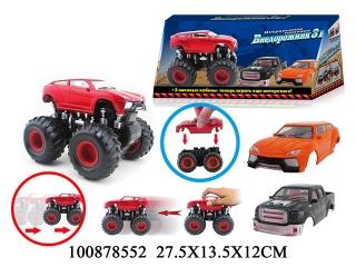 Машина 100878552 Джип инерционная в коробке 27,5*13,5*12см