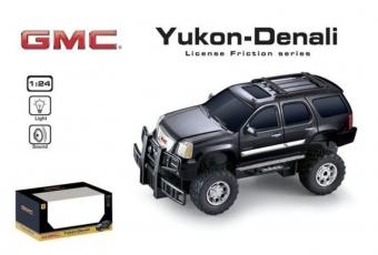 Машина 1:24 GMC 866-82403 инерционная, со светом, на батарейках, в коробке, 19*9*6.5см ТМ GK Racer S