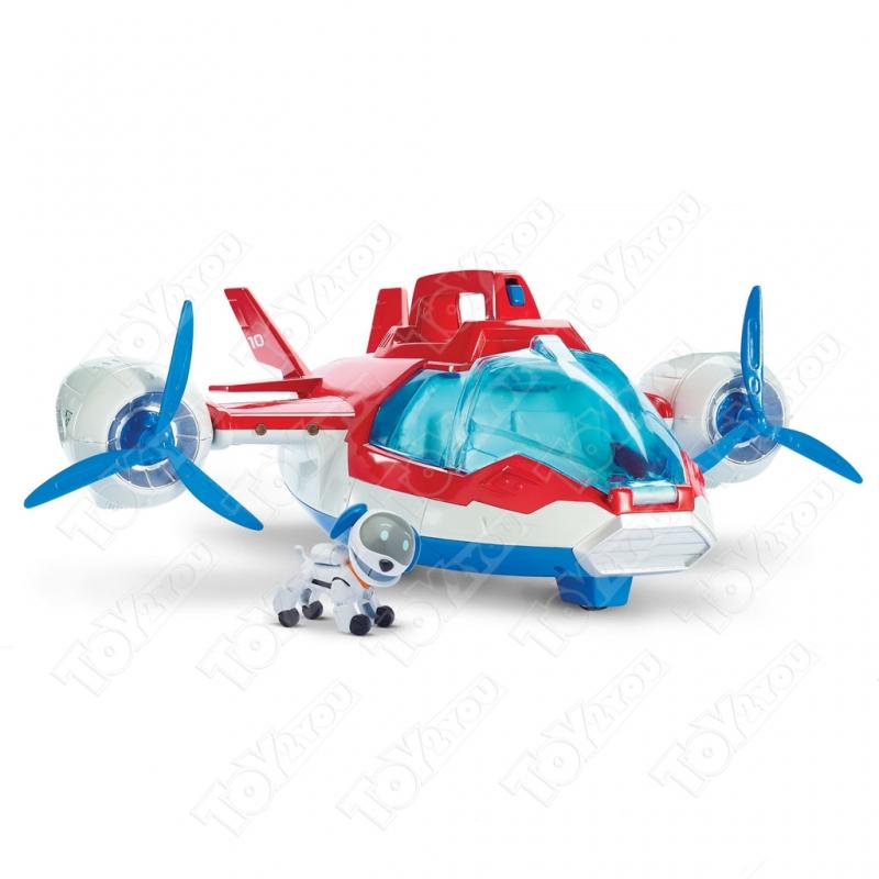 Набор Щенячий патруль Самолет спасателей + Воздушные спасатели