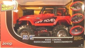 Машина радиоуправляемая New Bright Jeep/Ford 61088W (1137019) 1:10