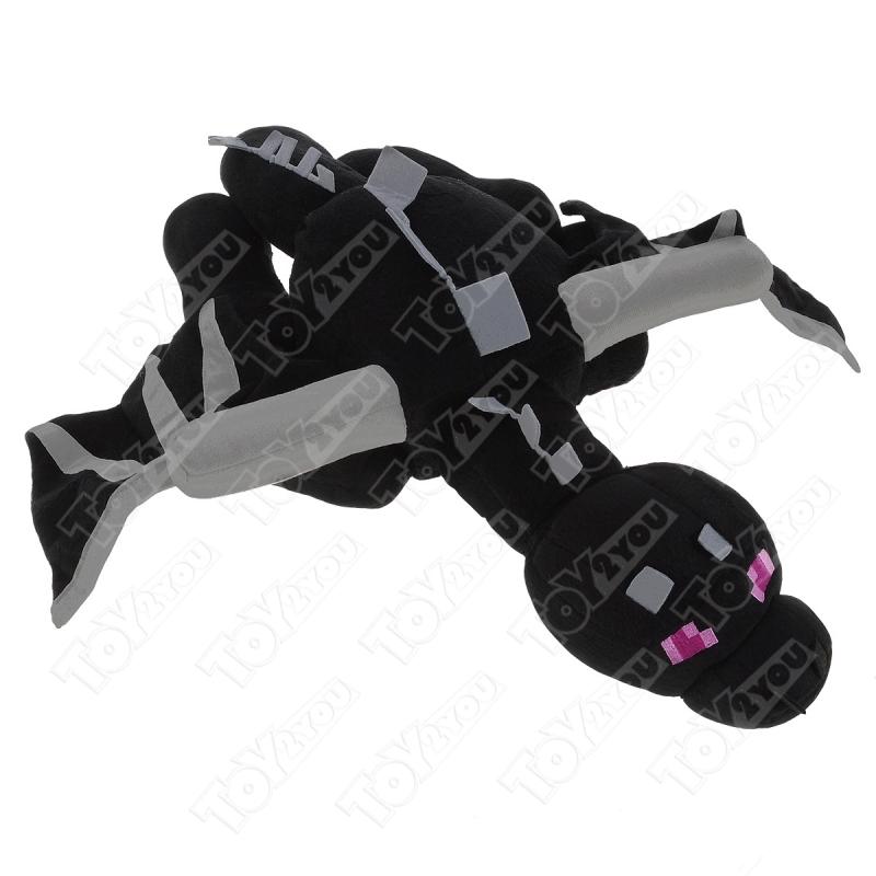 Мягкая игрушка Черный дракон Майнкрафт
