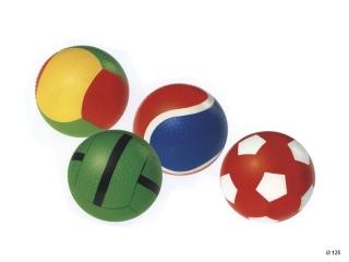 Мяч с рельефом (спорт) 125 мм с-54ЛП