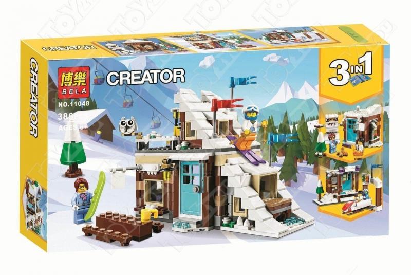 Конструктор Creator Зимние каникулы 386 деталей 31080 BELA 11048