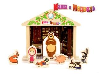 """Игра-логика GT5948 """"Маша и Медведь"""" дерево Маша и Медведь"""