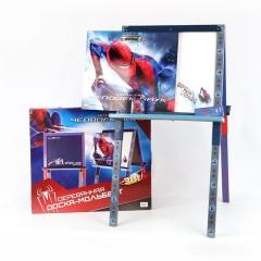 Доска GT6802 Человек-Паук напольная, с мелом и губкой 91*5,5*47см Marvel