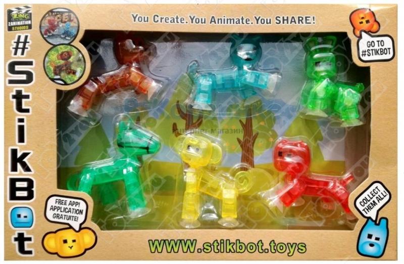 Стикбот домашние животные (Stikbot pets)