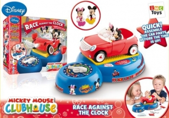 Игра 181083 Гонка на время Mickey Mouse на батарейках, в коробке TM Disney