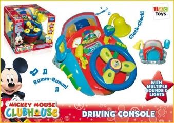 """Игра 180055 """"Юный водитель"""" Mickey Mouse на батарейках, в коробке, 31*33,5*26,5 TM Disney"""