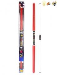 Сдвоенный световой меч Дарта Мола 868-9 со светом и звуком 108 см