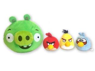 Игра Интерактивная Свинка с 3 птичками Chericole Angry Birds CTC-AB-1