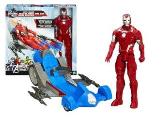 Игровой набор Avengers Титаны Мститель и транспортное средство А7363