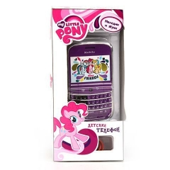 Телефон GT8668 сотовый My Little Pony, на батарейках HASBRO