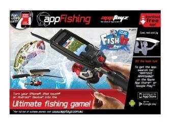 Игра Рыбалка AZ009 удочка AppToyz