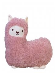 Мягкая игрушка подушка Овечка (розовая)