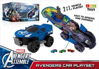 Игровой набор Складной Трек Мстители 2 в 1 с 3 машинками (IMC Toys 1180939)