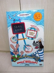 Доска для рисования детская Затейники напольная Союзмультфильм GT904
