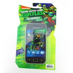 Телефон GT9097 сотовый со звуком на батарейках ТМ TEENAGE MUTANT NINJA TU