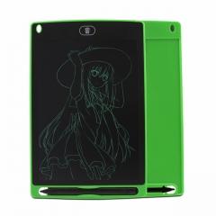 Детский графический планшет 8,5 дюймов (ЖК-блокнот для письма) Зеленый