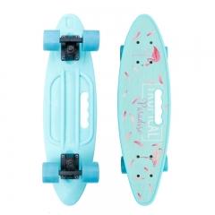 "Скейт Cruiser Board ""Фламинго"" пенни борд 61 см"