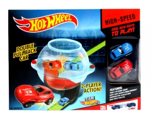 Игровой набор Хот Вил Двойной круговорот Hot Wheel Double Pull Back Car (Hot Wheel 220)