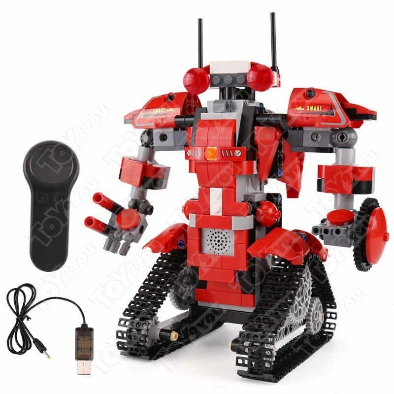 Конструктор Техникс Красный Робот Mould King 13001(390 деталей)