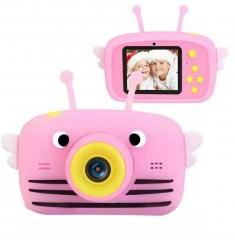 Детский фотоаппарат Пчелка «Розовый» Children's fun Camera