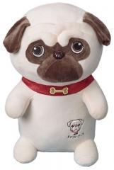 Мягкая игрушка Собака Мопс 45 см