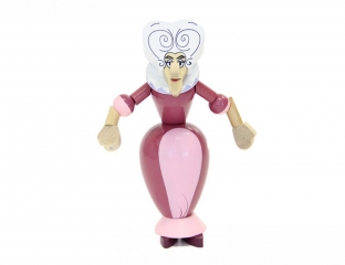 Баба Яга (розовый)