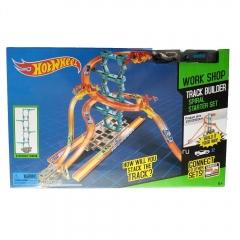 Игровой набор Хотвилс Конструктор Трасс Hot Wheel Track Builder Spiral Starter Set