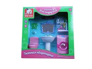 Мебель 100445909 Туалетная комната, в коробке 31*9,3*11см