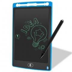 """Детский графический планшет 12"""" дюймов (ЖК-блокнот для письма) Синий"""