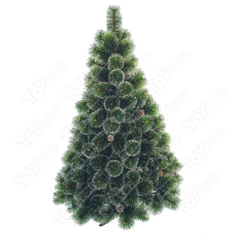 Искусственная новогодняя Ёлка Снежка 60 см (с шишками)