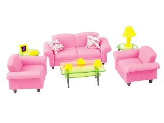 Мебель 100202715 Гостиная, в коробке 25*6*23,7см S+S TOYS