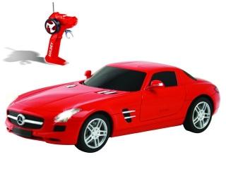 Р/у 1:28 Mercedes-Benz-SLS LC296810-2 Машина на батарейках в коробке AULDEY