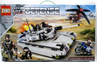 Конструктор War Defense Танк 864 детали (ZHBO NO6632)