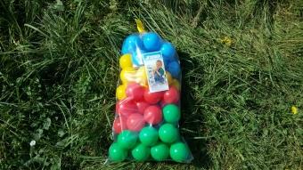 Мячики для сухого бассейна 70 мм 50 шт.
