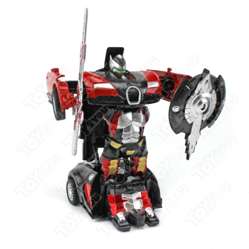 Мини - Трансформер (Металл / пластик) Ламборгини Красный