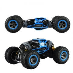 Машинка перевёртыш 34 см синяя