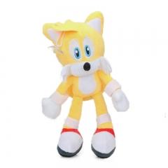 Мягкая игрушка Лисенок Майлз «Тейлз» Прауэр (Ёжик Соник Sonic 30 см)