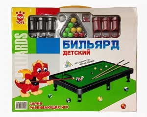 Бильярд GT8905 в коробке, 32*28*4см, Top Toys