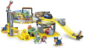 Набор игрушек Щенячий Патруль - Инженерный департамент