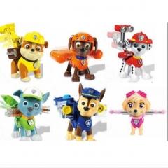 Набор игрушек Щенячий Патруль (Paw Patrol)  6+1 Вся команда щенков  + Райдер