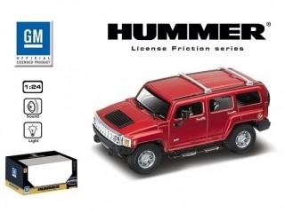 Машина 1:24 HUMMER H2 SUT 866-82433 инерционная