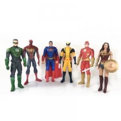 Набор игрушек Супергерои 6 героев 28 см