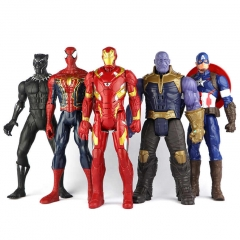 Набор Игрушек 32 см Мстители Против Таноса 5 шт.