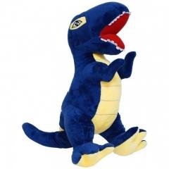 Мягкая игрушка Динозавр Т-Рекс 27 см синий (T-Rex)