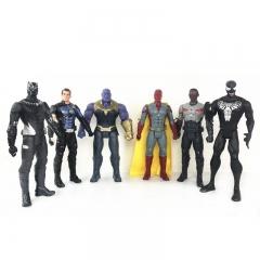 Набор Игрушек Танос против Супергероев 28 см.